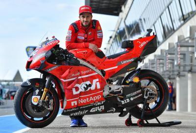 """Dovizioso e Petrucci """"sponsorizzano"""" le Ducati a Le Mans"""