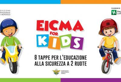 A maggio inizia Eicma... per i più piccoli