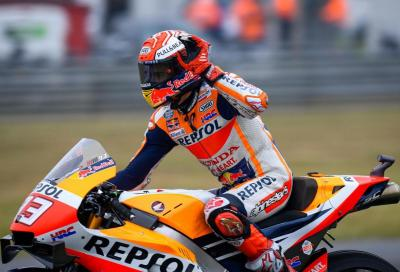 Le Mans: Marquez batte le Ducati, vittoria n.300 di Honda