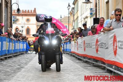 Non c'è due senza tre: al Giro d'Italia con la Niken GT