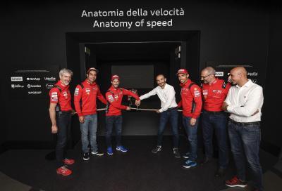 """Il Museo Ducati inaugura la mostra """"Anatomia della Velocità"""""""