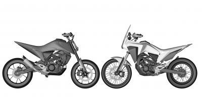 Honda registra il brevetto delle CB125M e CB125X