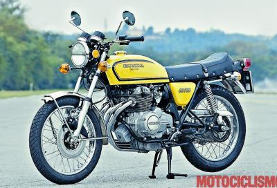 La Honda CB400F Super Sport del 1974