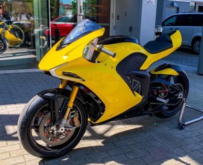 """Damon Motors svela la moto elettrica """"anti-incidente"""""""