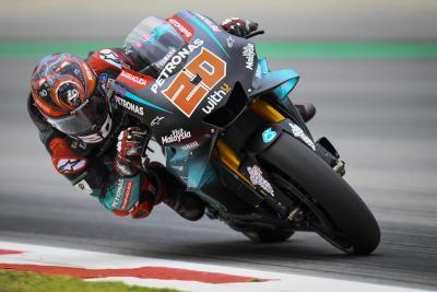 Quartararo porta la Yamaha in vetta nelle FP2