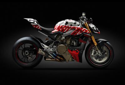 Ducati Streetfighter V4, nuda con le ali