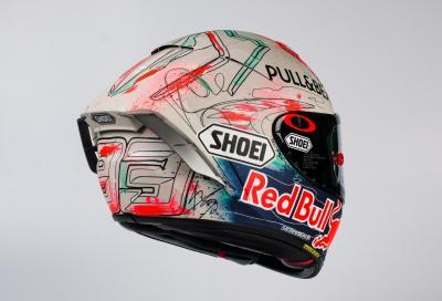 Nuovo casco per Marquez in Catalunya