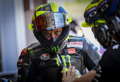 """Rossi: """"La curva della caduta non è adatta a una pista di moto"""""""
