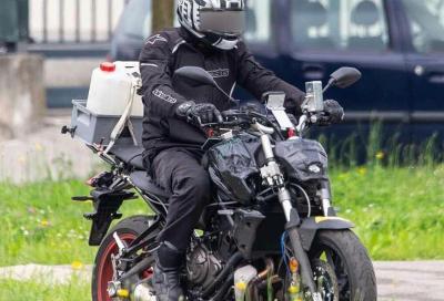 Spy Shots: le foto della nuova Yamaha MT-07