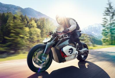 BMW svela la Vision DC Roadster, naked elettrica del futuro