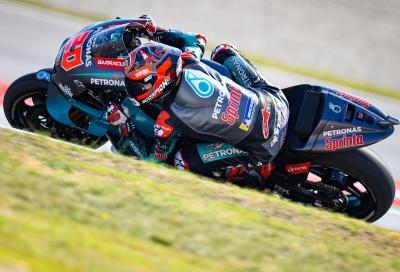 Yamaha, bene le FP1 di Assen: primo Quartararo, secondo Viñales