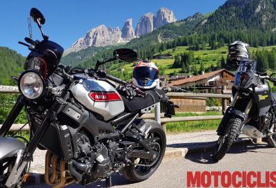 Con Yamaha al Dolomiti Ride 2019