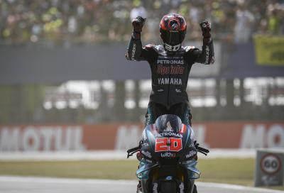 Quartararo il più veloce nelle FP1. Marquez e Rossi inseguono