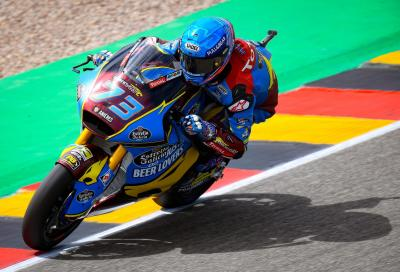 Moto2: pole di Alex Marquez in Germania, Marini 2°