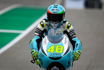 Dalla Porta vince ed è leader del Mondiale Moto3