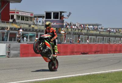 Doppietta di Savadori a Imola. Prima vittoria di Bartolini in Moto3