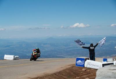 Aprilia vince la Pikes Peak 2019