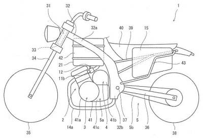 Kawasaki al lavoro su una moto ibrida