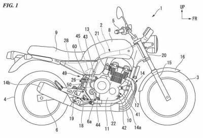 Brevetti Honda ci mostrano la nuova CB1100