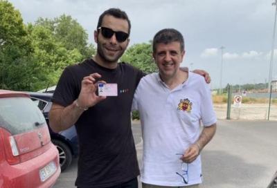 """Petrucci supera l'esame della patente: """"Finalmente posso guidare in strada"""""""