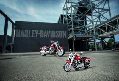 Lego e Harley-Davidson presentano la Fat Boy in miniatura