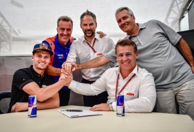 MotoGP: Binder affiancherà Oliveira nel team KTM Tech 3
