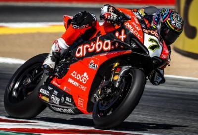 Alti e bassi Ducati a Laguna Seca: Davies vince, Bautista out
