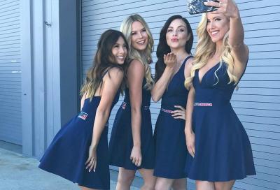 Le ragazze più belle della SBK 2019 a Laguna Seca