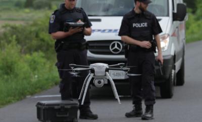 Droni in volo contro i guidatori pericolosi