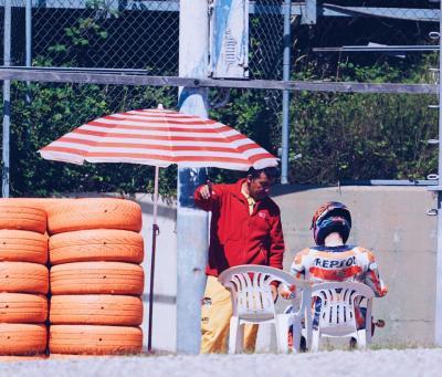 Lorenzo out fino a Silverstone