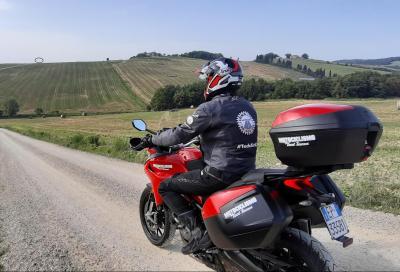 Parte il long test della Ducati Multistrada 950