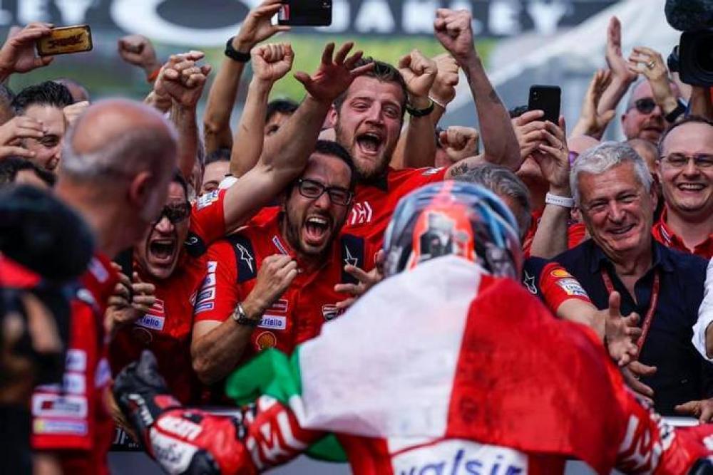 MotoGP: lutto in casa Ducati. E' morto Luca Semprini