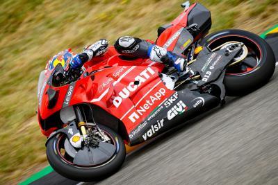 Dovizioso il più veloce nelle prime libere di Brno