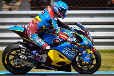 Moto2: Alex Marquez in pole, ottimi gli italiani a Brno