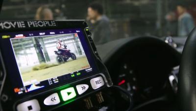 Il dietro le quinte del video della Ducati Hypermotard 950