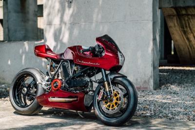 L'esclusiva Ducati MH900e rinasce sportiva