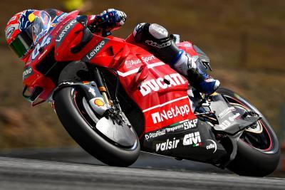Dovizioso porta la sua Ducati davanti a tutti al Red Bull Ring