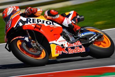 Marquez il più veloce nelle FP2 al Red Bull Ring
