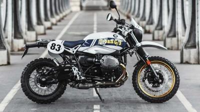 La R nineT omaggia il vincitore della Dakar Auriol con una serie speciale