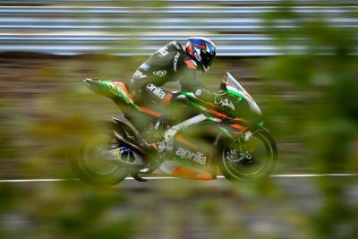 MotoGP: miglior tempo per Aprilia nei test al KymiRing