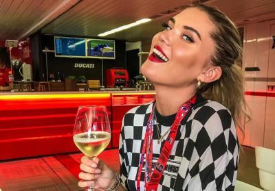 Le ragazze più belle della MotoGP 2019 a Silverstone