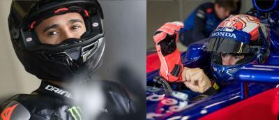 Marquez sfida Hamilton: chi vincerebbe?
