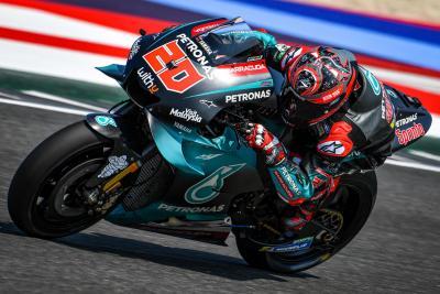 Test Misano: Yamaha svetta nel Day 1 con Quartararo e Morbidelli