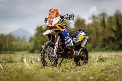 KTM 690 Adventure: l'Africa in Brianza