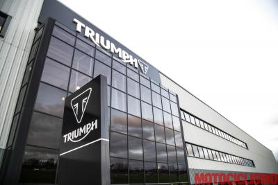 Come nasce una Triumph? La nostra visita all'azienda