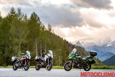 Multistrada 950 S vs Versys 1000 SE GT vs Tracer 900 GT