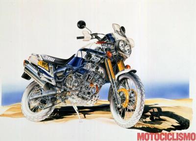 Yamaha XTZ750 Super Ténéré. Il deserto mi aspetta
