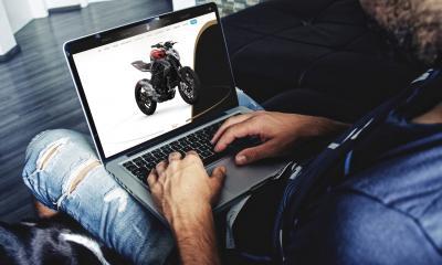 Ora le MV Agusta si comprano (anche) online