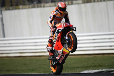Marquez mette in riga le Yamaha a Misano