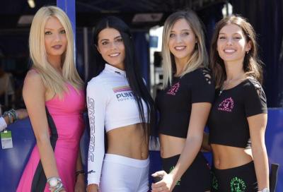 Le ragazze più belle della MotoGP 2019 a Misano